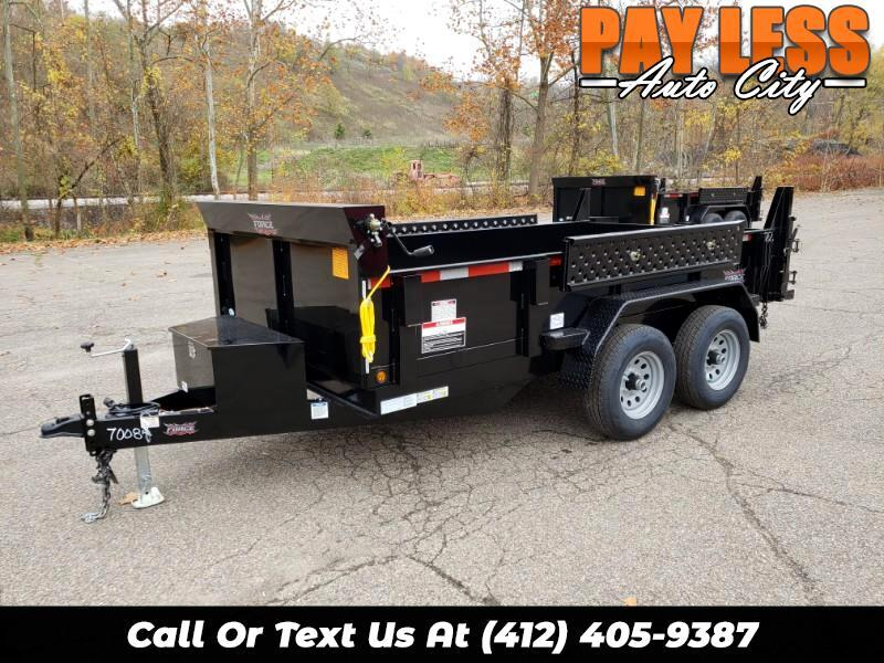 2020 Forest River 6x12 Dump Trailer, 9800 GVW