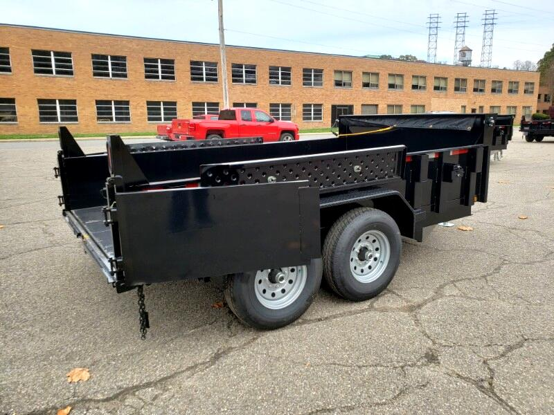 2020 Forest River 7x12 Dump Trailer, 6x axles, derated to 9990 GVW