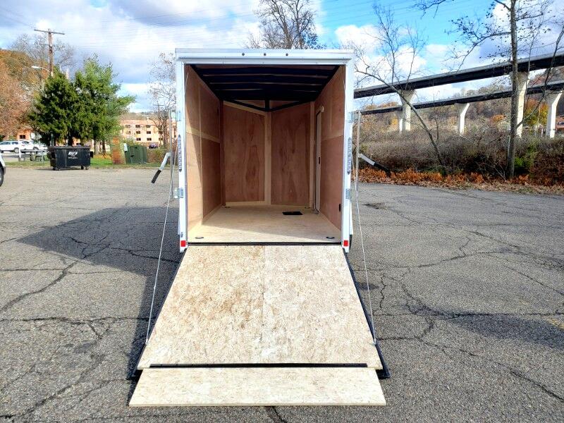2020 US Cargo 6x12 LE, 6'' Extra Height, Ramp Door