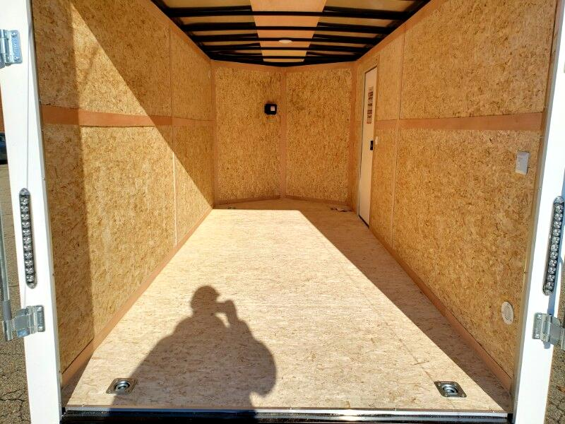 2020 Bravo Trailers 7x16 Scout, 12'' Extra Height, Ramp Door