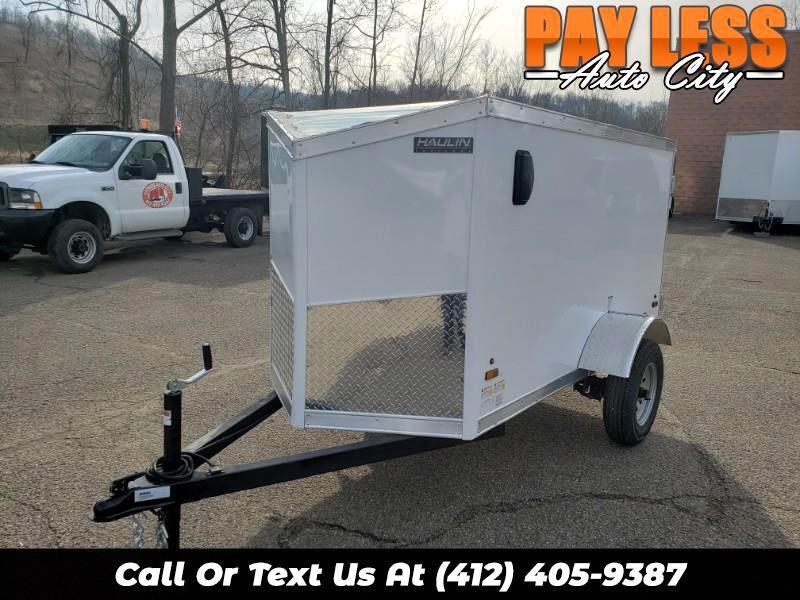 2020 US Cargo 4x8 ULAFT, Barn Door