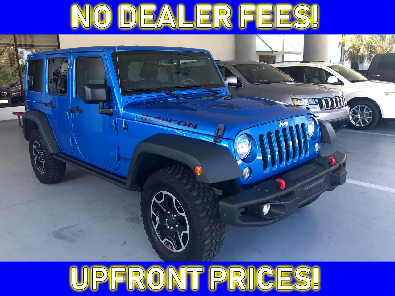 2016 Jeep Wrangler RUBICON HARD RO