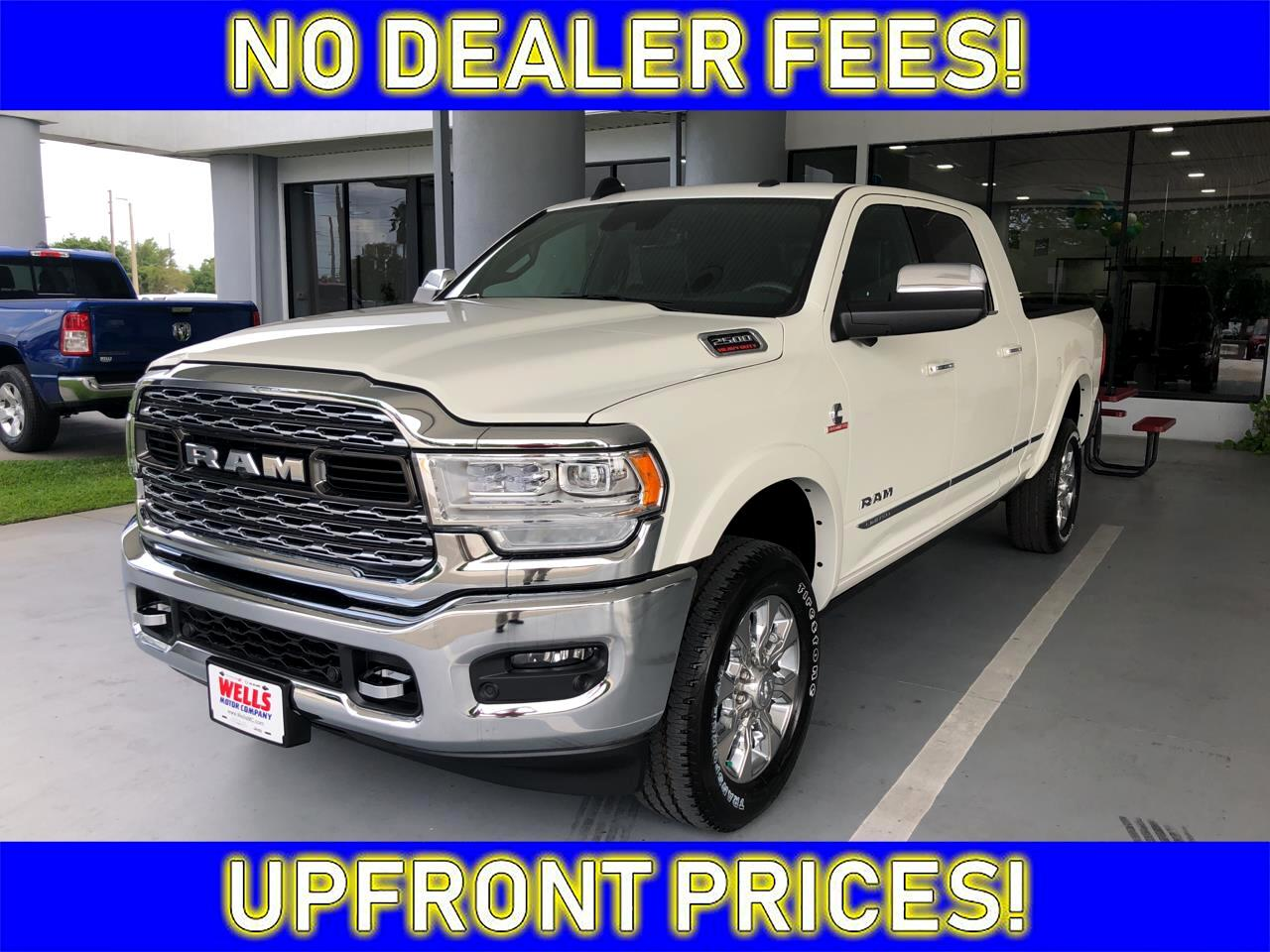 "2019 RAM 2500 Limited 4x4 Mega Cab 6'4"" Box"