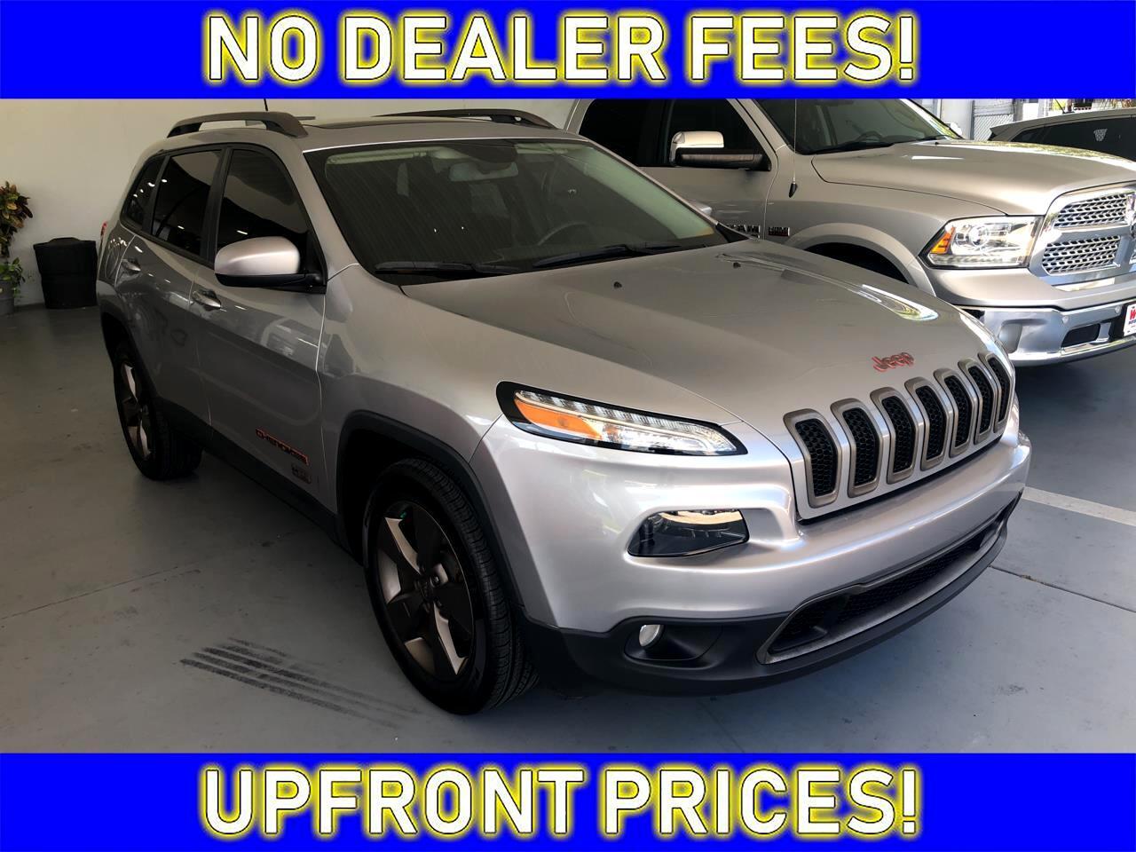 2016 Jeep Cherokee 75TH
