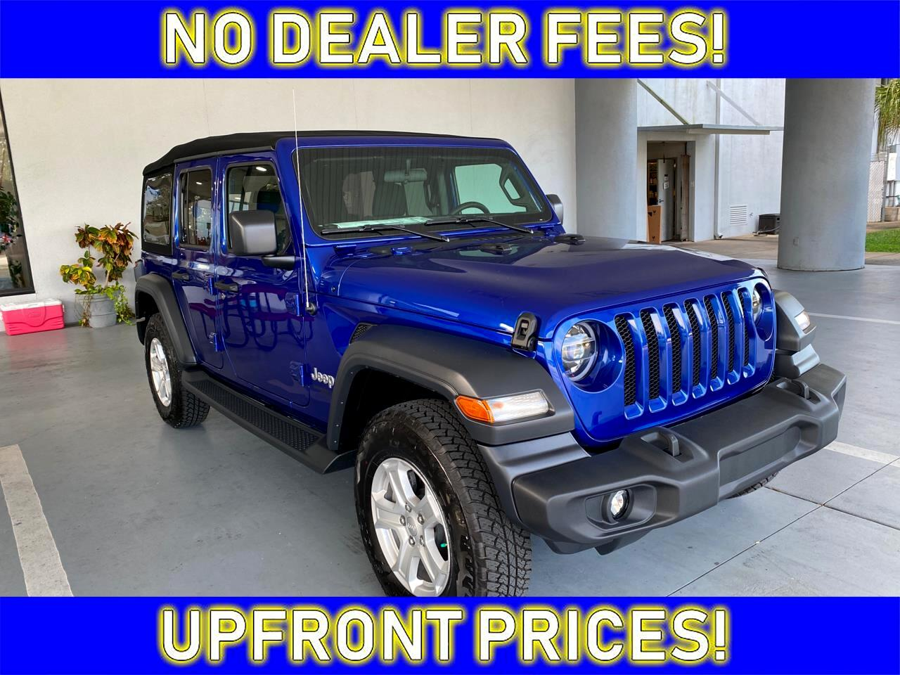 Jeep Wrangler Unlimited Sport 2020