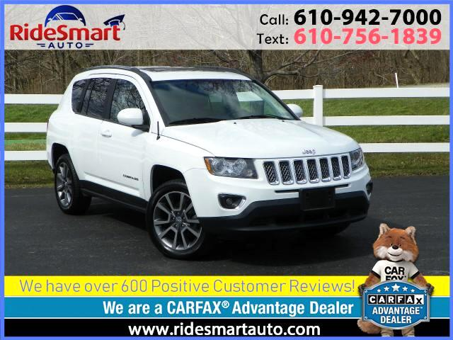 2014 Jeep Compass Limited 4WD Nav * Sunroof * Leather