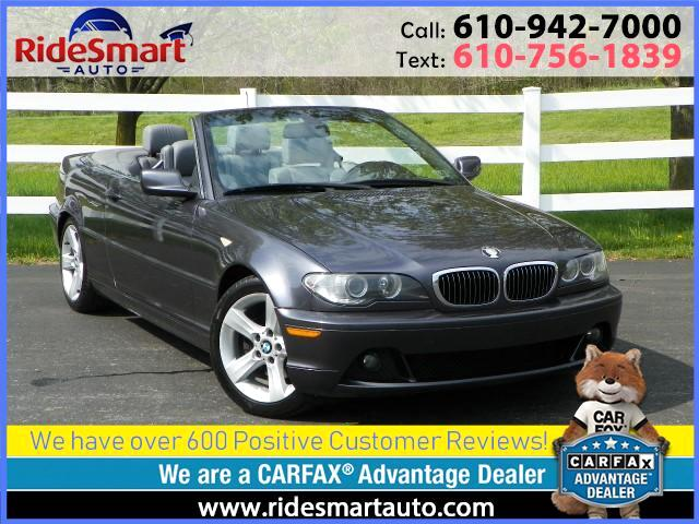 2005 BMW 3-Series 325Ci Convertible
