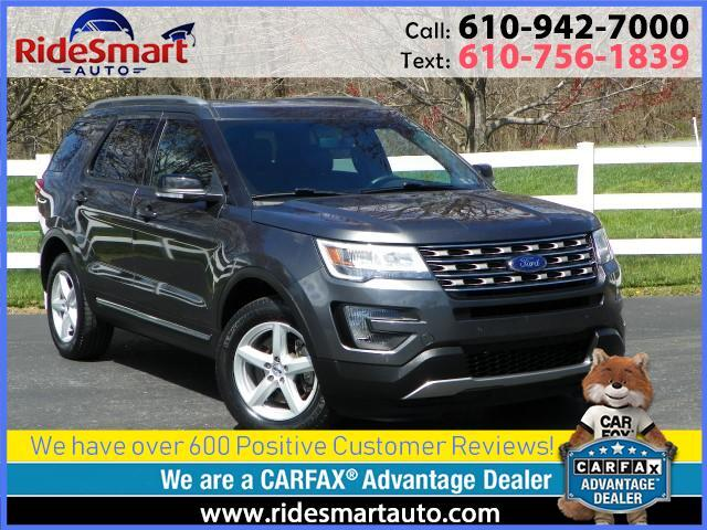 2016 Ford Explorer XLT 4WD Navigation-Leather-3rd Row Seat
