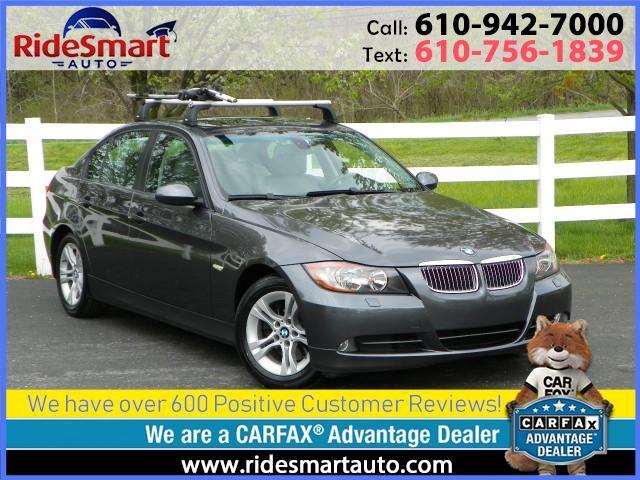 2008 BMW 3-Series 328xi All Wheel Drive-Sunroof-6 Speed Manual
