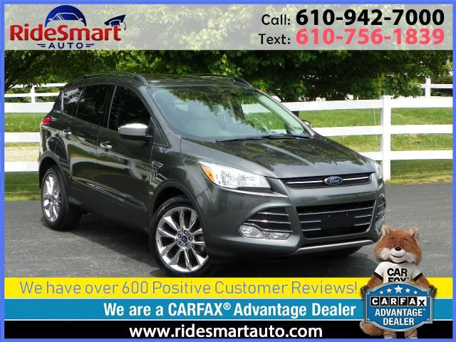 "2016 Ford Escape SE 4WD-Leather-Pano Sunroof-19"" Chrome Rim Pkg."