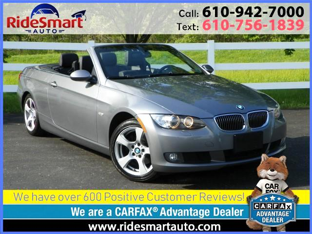 2009 BMW 3-Series 328i Retractable Hardtop Convertible