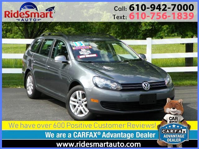 2013 Volkswagen Jetta SportWagen TDI Sport Wagon w/Bluetooth & Heated Seats