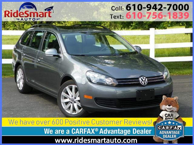2014 Volkswagen Jetta SportWagen 2.0L TDI Wagon-Leather-Nav-Panoramic Sunroof