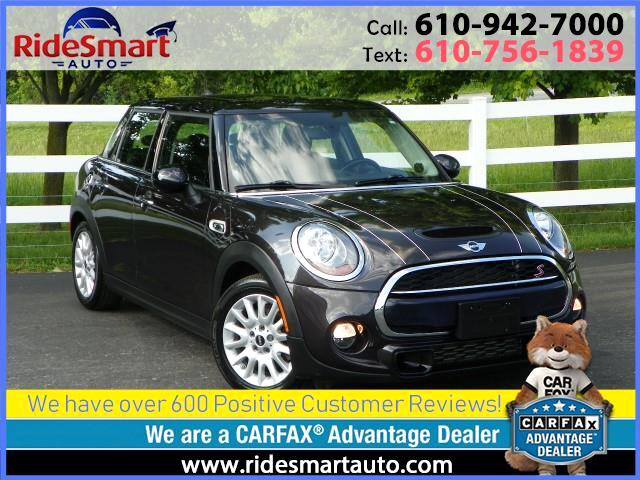 2015 MINI Cooper S 4 Door Hatchback w,2.0L Engine & Pano Roof
