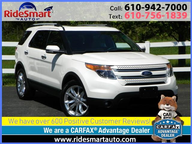 2015 Ford Explorer Limited 4WD-Nav-DVD-3rd Row Seat