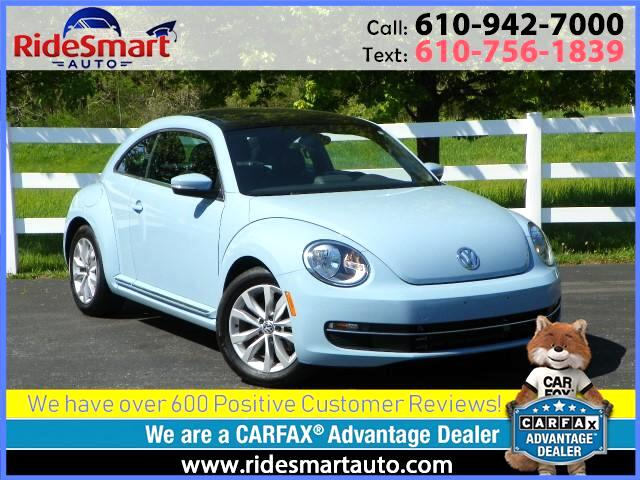 2015 Volkswagen Beetle TDI Premium w/Sunroof,Sound & Navigation