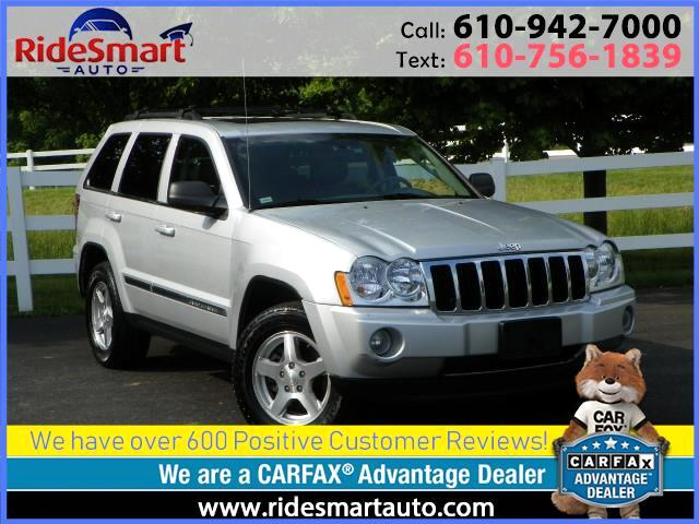 2007 Jeep Grand Cherokee Limited 4WD V-8-Sunroof-Leather