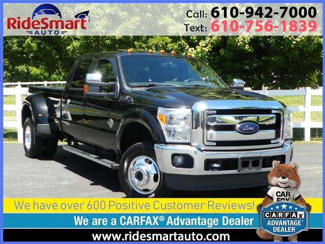 2014 Ford F-350 SD Lariat Crew Cab Long Bed Diesel Dually 4 WD