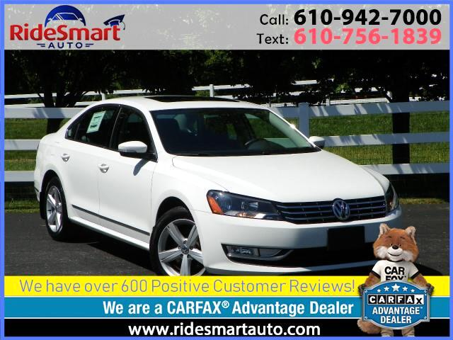 2015 Volkswagen Passat TDI SE w/Sunroof and Navigation
