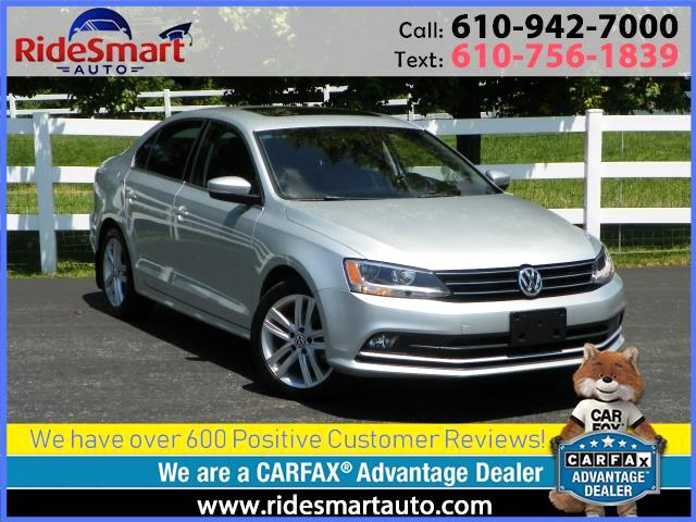 2015 Volkswagen Jetta TDI SEL Nav-Leather-Sunroof