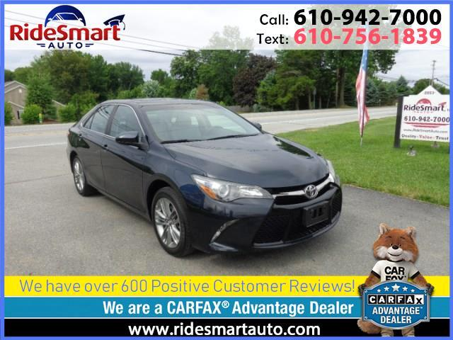 2015 Toyota Camry SE Leather Trim-Nav-Sunroof-Lane Assist