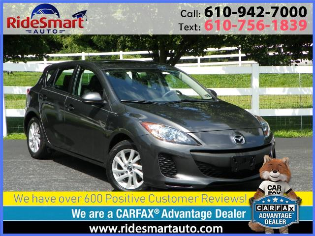 2013 Mazda MAZDA3 i Grand Touring Hatchback-Nav-Leather-Sunroof
