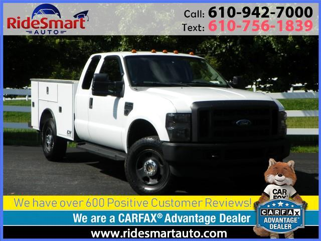 2009 Ford F-350 SD FX4 SuperCab 4WD 8 Foot Bed w/Utility Tool Box