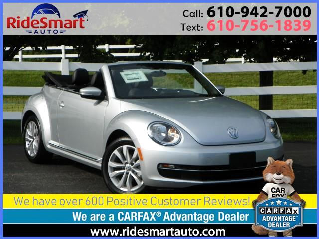 2014 Volkswagen Beetle TDI Convertible w/Sound and Navigation