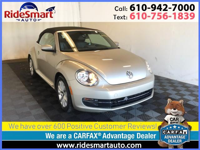 2013 Volkswagen Beetle 2.0 TDI Convertible-6 Speed Manual