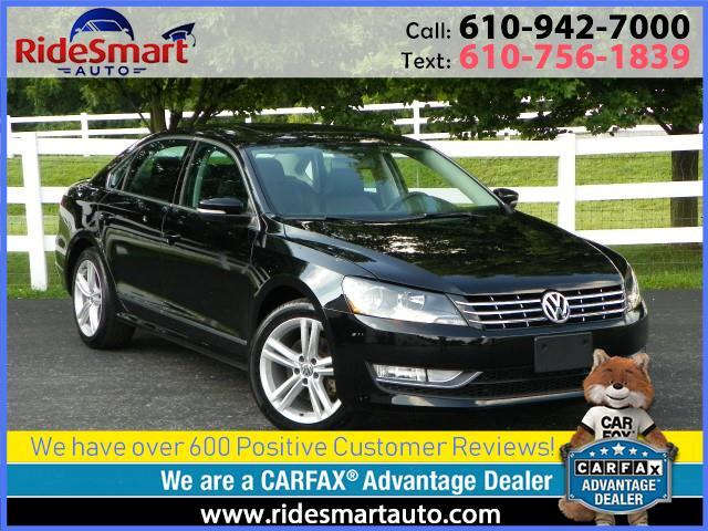 2015 Volkswagen Passat TDI SEL Pemium-Nav-Leather-Sunroof-Fender Sound