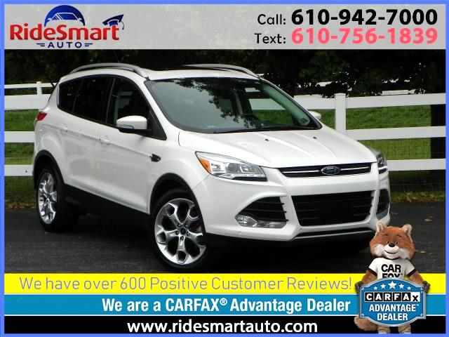 2015 Ford Escape Titanium 4WD Nav-Leather-Pano Roof