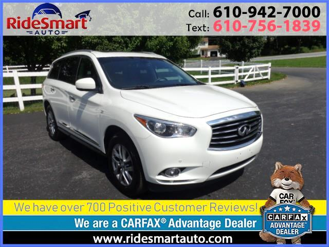 2014 Infiniti QX60 4 Wheel Drive Nav-Leather-Sunroof-3rd Seat