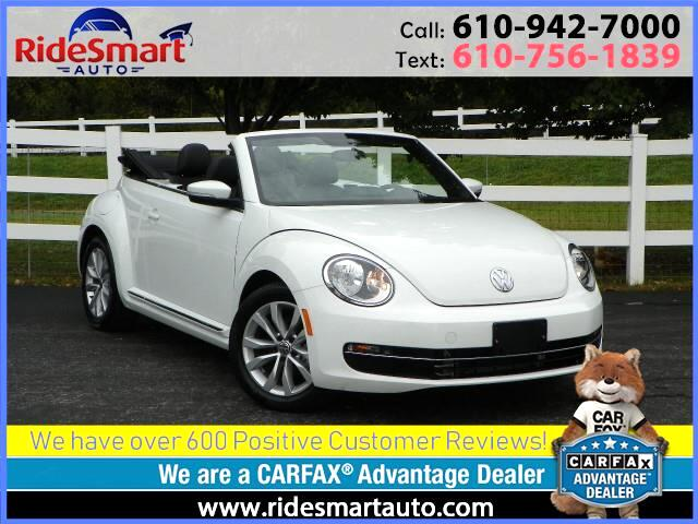 2015 Volkswagen Beetle TDI Convertible w/Sound and Navigation
