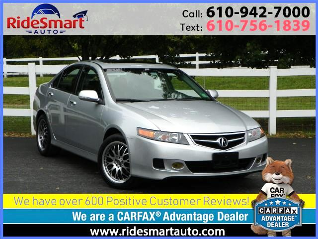 2006 Acura TSX 4 Door Sedan Sunroof-Leather/i-Vtek Engine