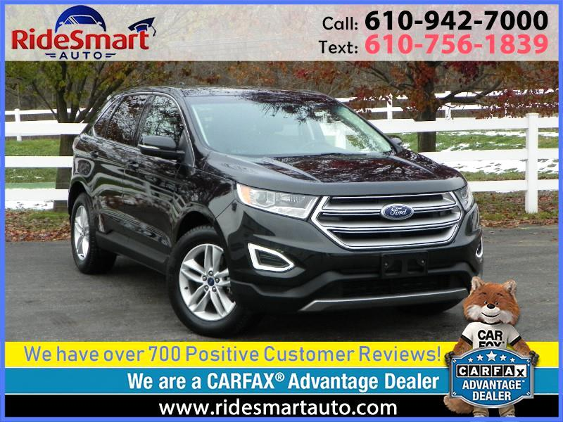 2015 Ford Edge SEL AWD Nav-Leather-Sunroof