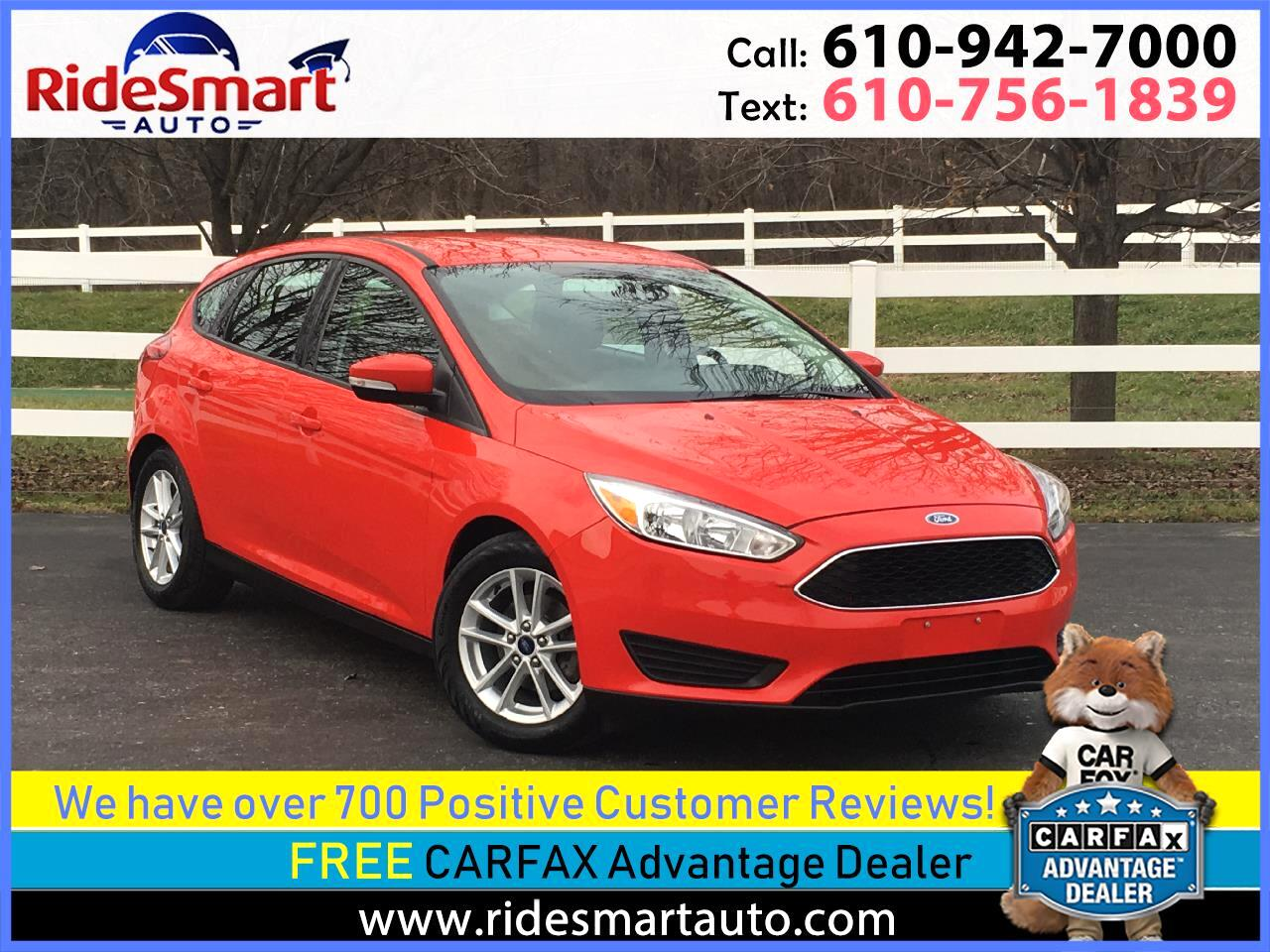 2016 Ford Focus 5 Door Hatchback SE