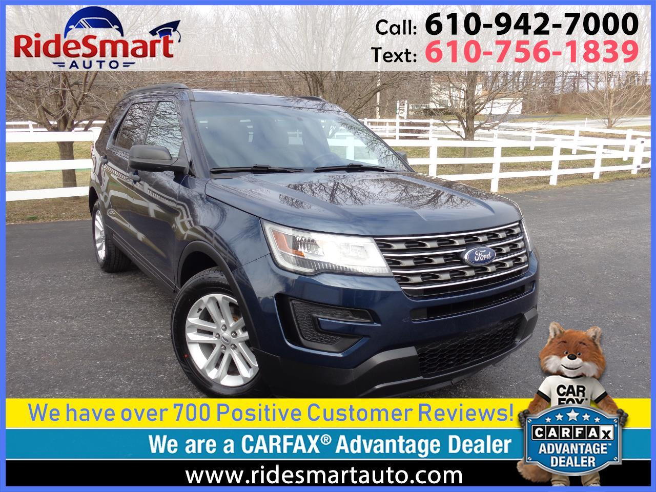 2016 Ford Explorer 6 Cylinder-3rd Row Seat-Rear Camera-Bluetooth