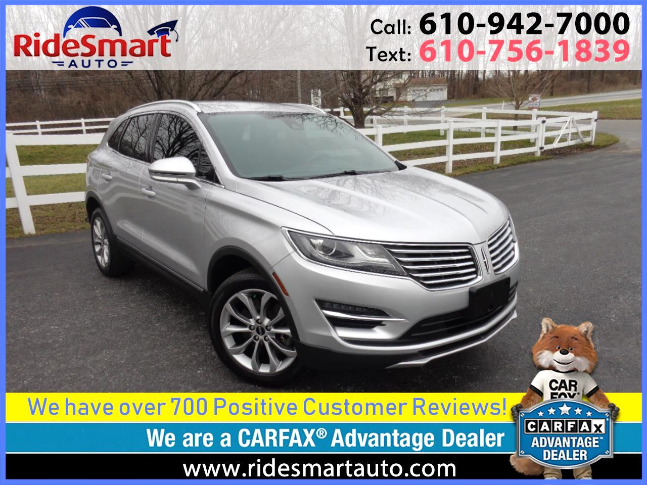 2016 Lincoln MKC Select AWD Nav-Drivers Assist