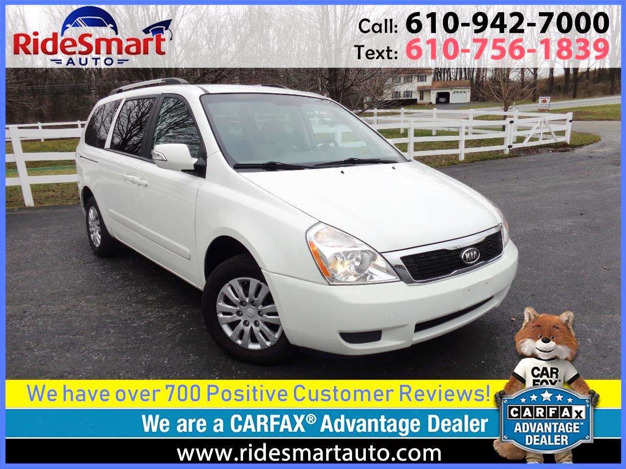 2012 Kia Sedona LX Long Wheel Base w/Dual Side Doors