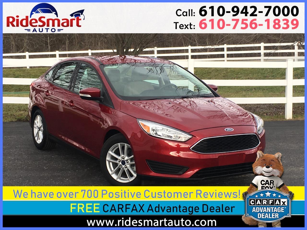 2016 Ford Focus SE Sedan w/Pwr Driver Seat