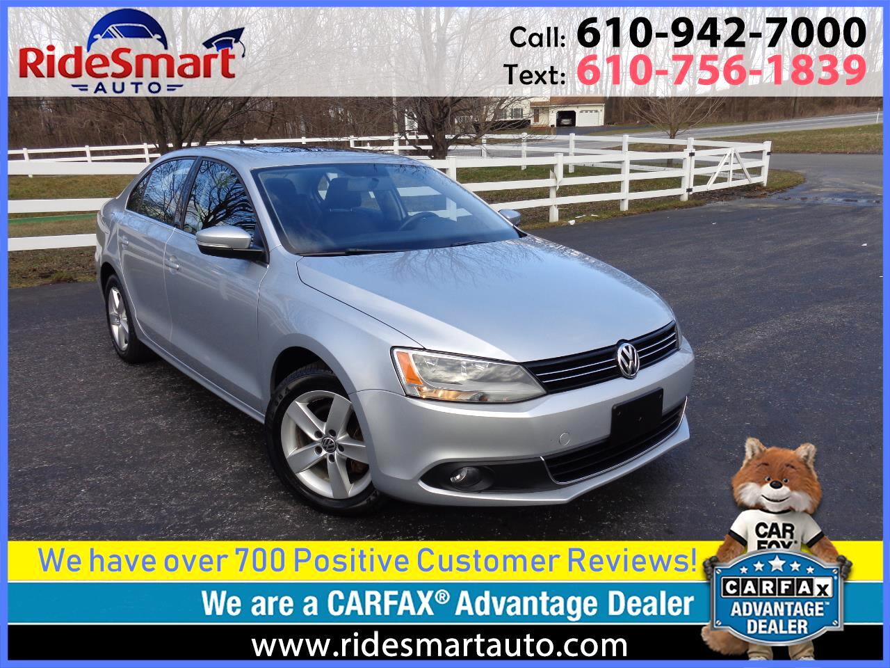 2011 Volkswagen Jetta TDi Nav-Sunroof-Leather