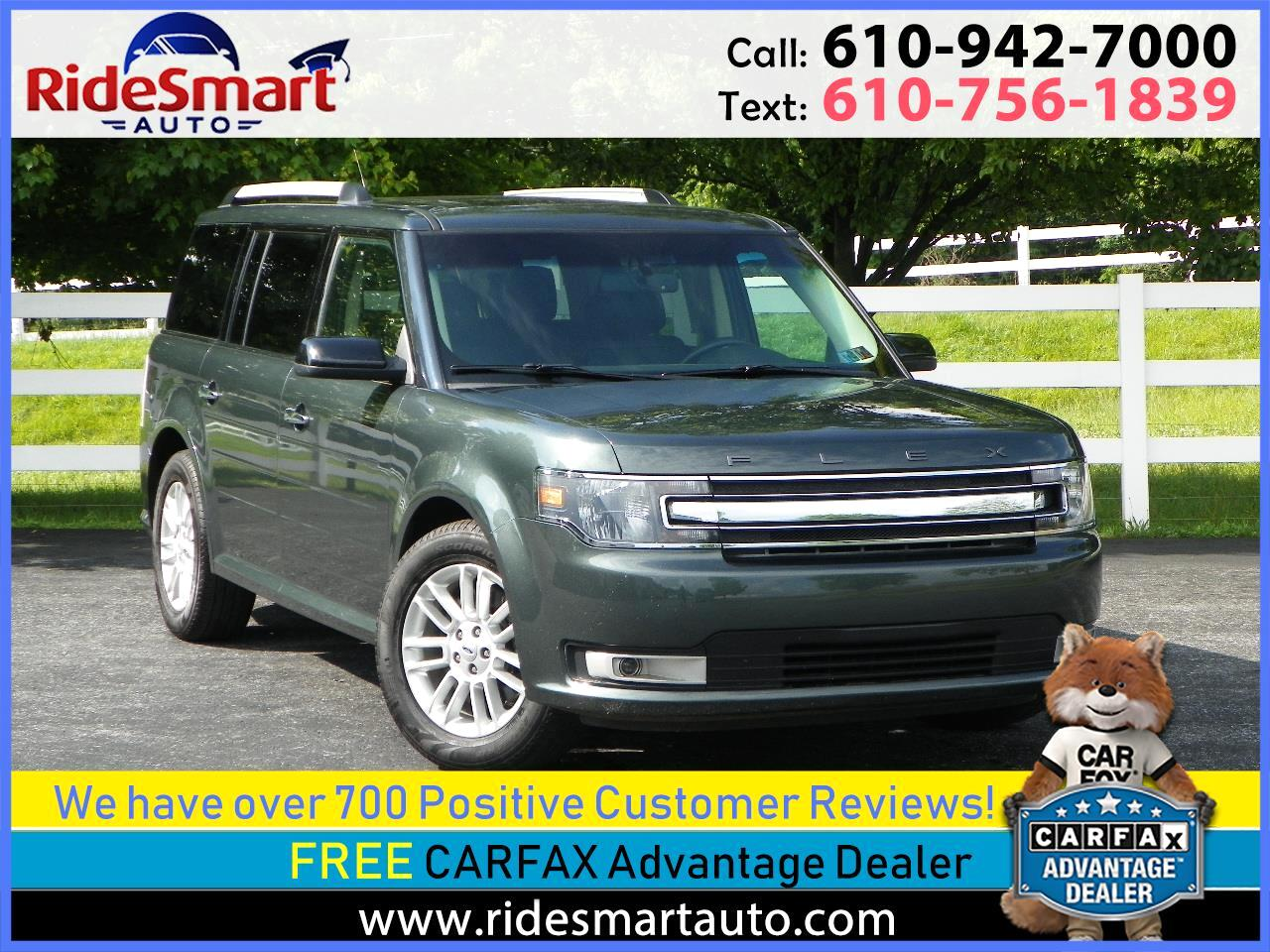 2015 Ford Flex SEL AWD Nav-Pano Roof-Leather-3rd Seat