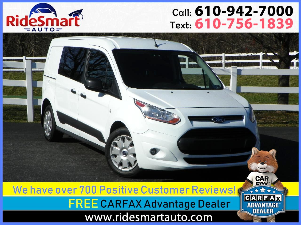2016 Ford Transit Connect Cargo Van XLT LWB w/Rear Barn Doors