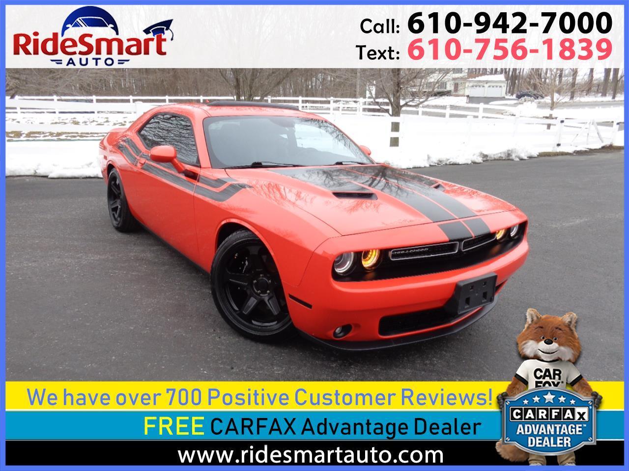 2016 Dodge Challenger SXT Premium Plus