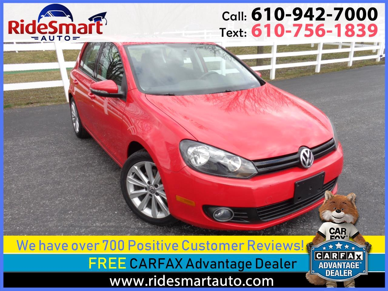 2014 Volkswagen Golf 2.0L TDI w/Tech Package 4 Door