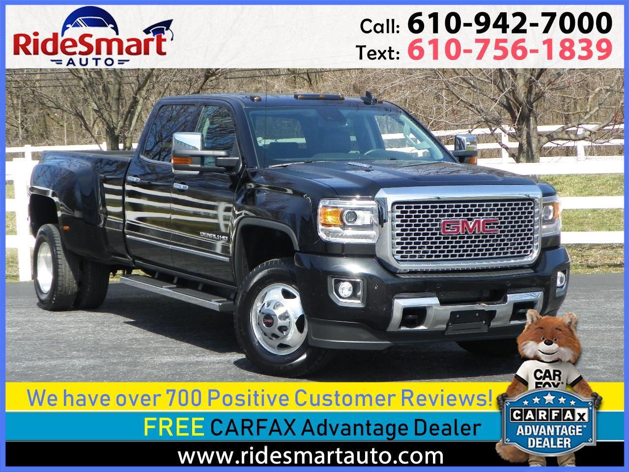 2016 GMC Sierra 3500HD Denali Crew Cab 4WD Long Bed Dual Rear Wheel
