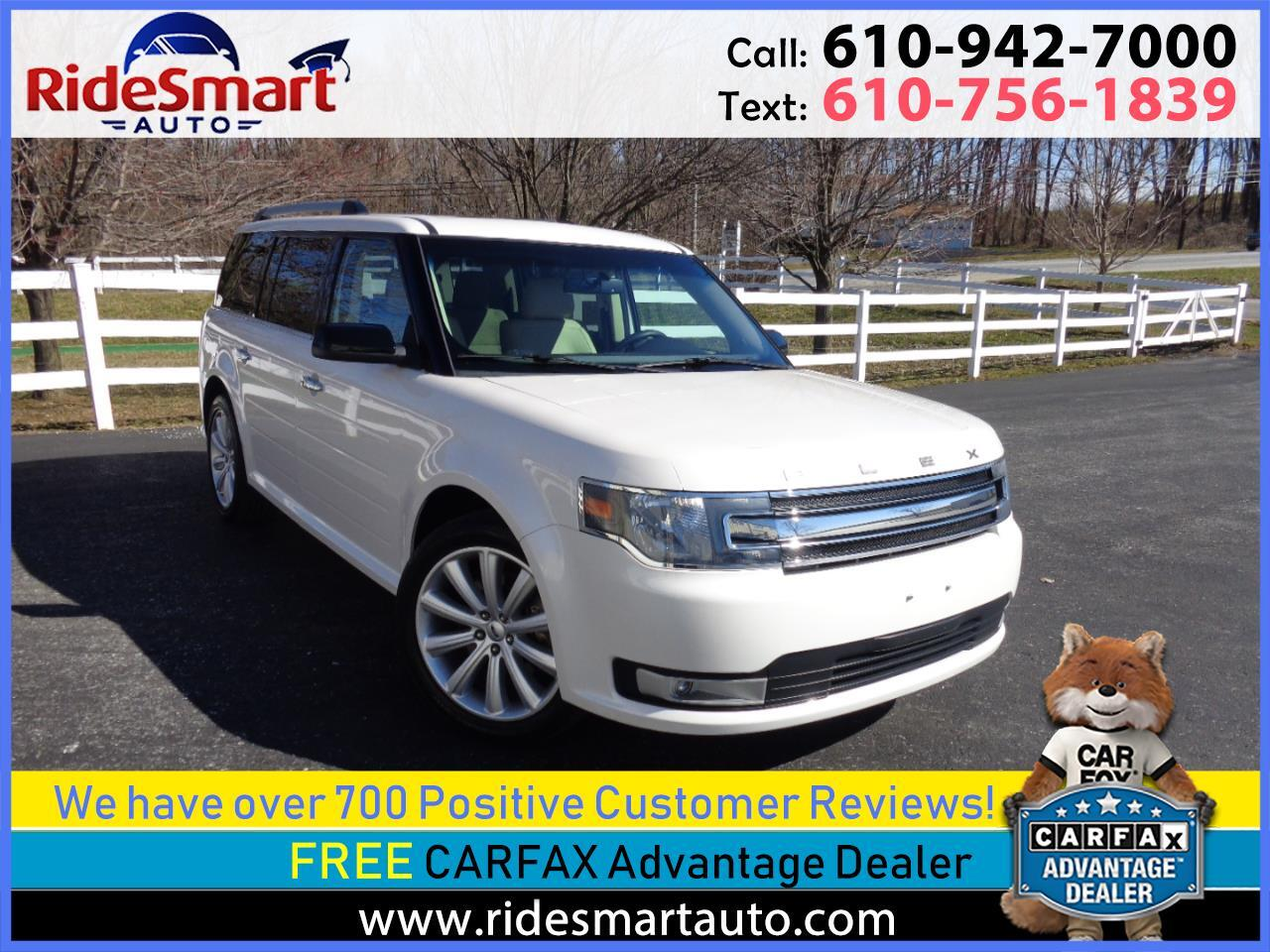 2015 Ford Flex SEL FWD Pano-Leather-Navigation