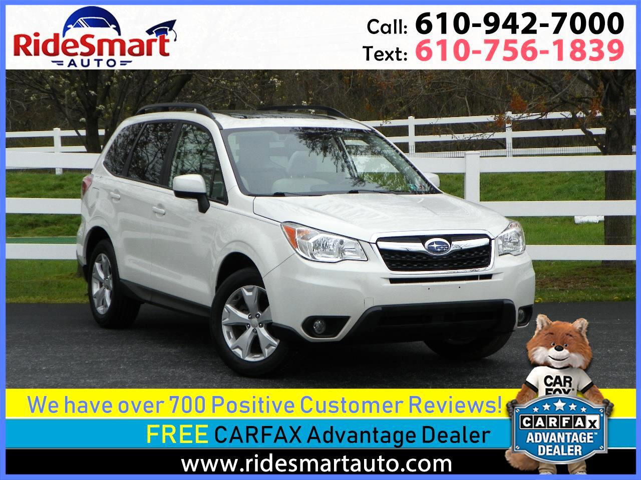 2016 Subaru Forester 2.5i Premium w/Pano Sunroof & Eyesight