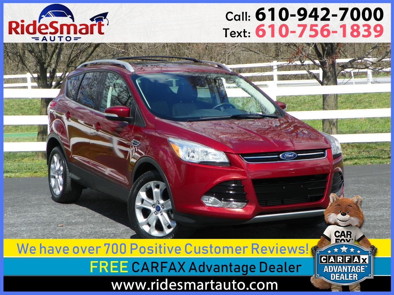 2016 Ford Escape Titanium 4WD 2.0L Nav-Leather-Pano Roof