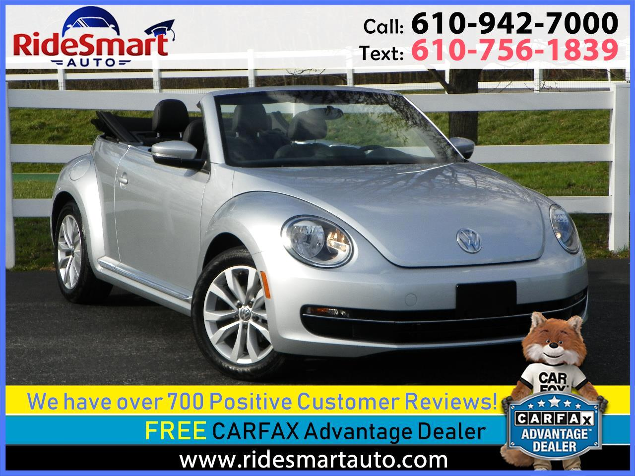 2013 Volkswagen Beetle TDI Convertible w/Fender Sound & Navigation